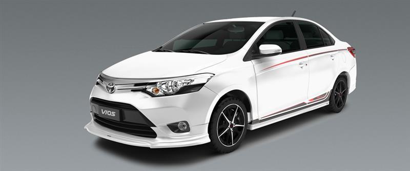 Toyota vios TRD thể thao mạnh mẽ