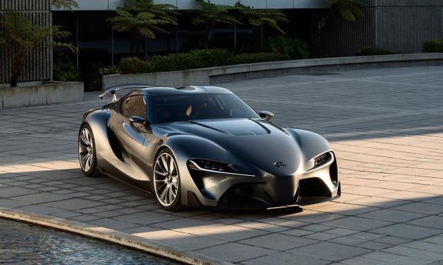 Toyota supra 2019 black clour